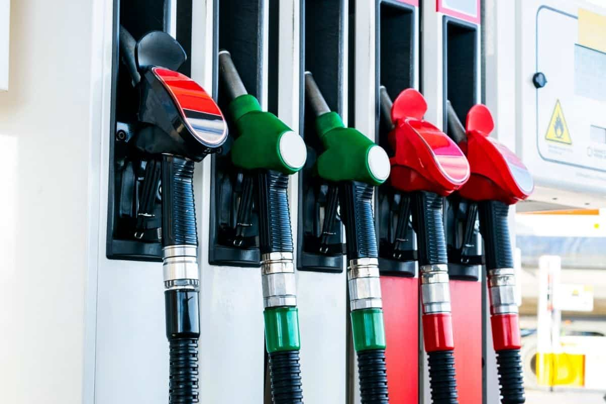 Gasoline and diesel pump nozzles
