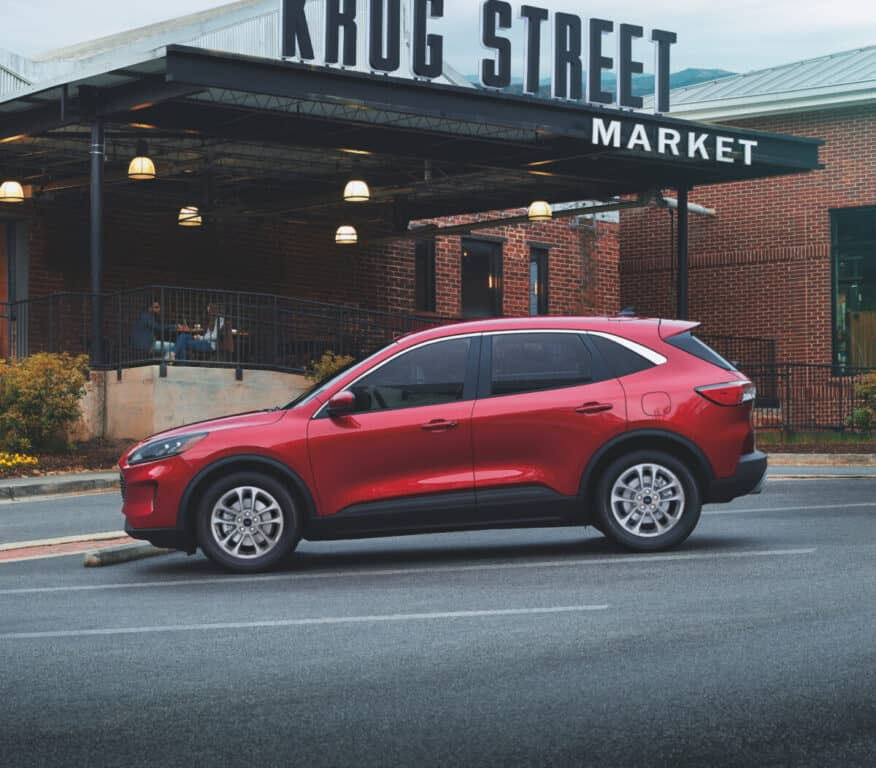 2021 red ford scape